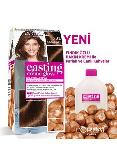 L'Oréal Paris L'Oréal Paris Casting Crème Gloss Saç Boyası - 532 Çikolatalı Kahve Renkli